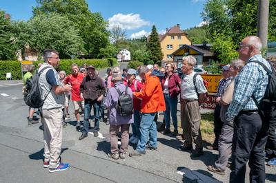 Volkswandertag 2019 - Begrüßung Wolfgang Zeeh