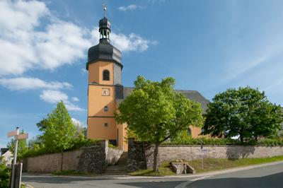 Regnitzlosau Barockkirche St. Aegidien